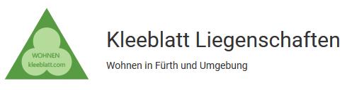 Logo von Kleeblatt Liegenschaften UG (haftungsbeschränkt) & Co. KG
